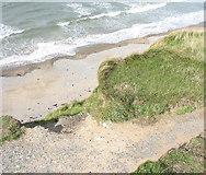 SH4356 : Crumbling Cliff by Eric Jones