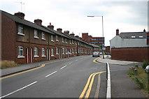 SJ9223 : South Walls, Stafford by Stephen Pearce