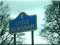 NZ1217 : Little Newsham - west entrance by Stanley Howe