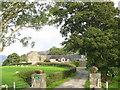 SH5052 : Entrance to Ffridd Farm, Nantlle by Eric Jones