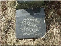 NZ1826 : Gravestone in St Helen's churchyard by Stanley Howe