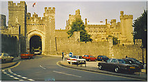 TQ0107 : Arundel Castle Gatehouse by Colin Smith