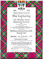 NO1591 : Braemar 'Highland games' programme 1979 by Stanley Howe