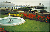 TV6198 : Promenade and Gardens at Eastbourne Pier by Colin Smith