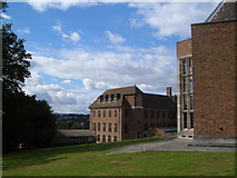 SX9193 : University of Exeter: Washington Singer and Roborough buildings by Derek Harper