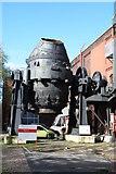 SK3588 : Bessemer converter, Sheffield industrial Museum by Chris Allen