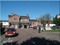 NO8686 : Stonehaven Railway Station by Richard Slessor