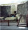 O0072 : Kerbstone, New Grange by Stanley Howe