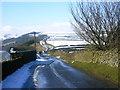 SK1977 : Winter scene on Bretton ridge. by Brian Ward