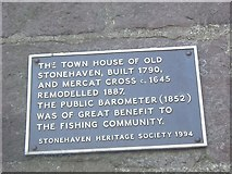 NO8785 : Old Stonehaven Town House by Stanley Howe