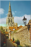 SU8504 : Chichester Cathedral from the South by Colin Smith