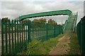 SK3029 : Footbridge by Phil Myott