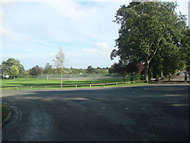 SE4422 : The Tennis Courts, Pontefract Park by Bill Henderson