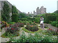ND2873 : Rose Garden of the Castle of Mey by Neil Smith