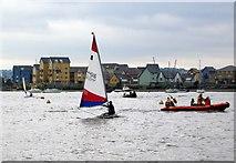 TQ7771 : Sailing from Wilsonian sailing club by Mike Bovington