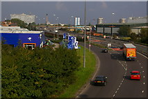 TA0827 : Clive Sullivan Way, looking North East by Charles Rispin