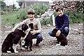 NZ4532 : Sheepdog family, in Elwick by Stanley Howe