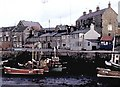 NU2232 : Seahouses harbour by Stanley Howe