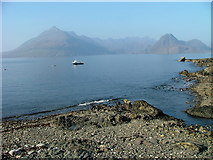 NG5113 : The Black Cuillin from Elgol by Dave Fergusson