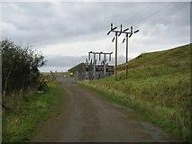 NG2261 : Ardmore Substation by John Allan