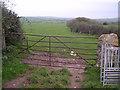 SD2569 : Gateway to fields near Leece by Chris Upson