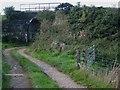 NS1901 : Old railway bridge at Burnside Farm, Girvan by Oliver Dixon