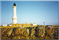 NJ9705 : Girdleness Lighthouse, Aberdeen by Colin Smith