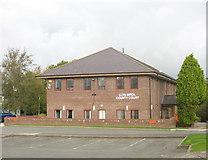 SH4862 : Llys Sirol / County Court, Llanberis Road by Eric Jones