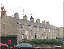 SH4862 : Cottages in Llanberis Road by Eric Jones