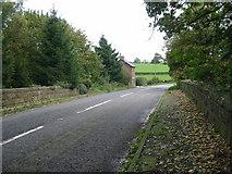 SK2947 : Railway Bridge near Idridgehay by Mike Bardill