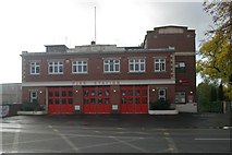 SO8376 : Kidderminster fire station by Kevin Hale