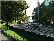SE2636 : Roadworks, Abbey Road, Kirkstall by Rich Tea