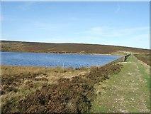 SD9839 : Keighley Moor Reservoir. by Steve Partridge