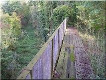 SU4726 : Disused railway bridge over the Itchen Navigation by Jim Champion