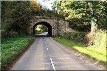 SE3167 : Old Railway Bridge by Chris Heaton