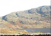 SH5644 : Ffolt Fawr at the head of Cwmystradllyn by Eric Jones