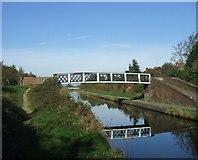 SO9494 : Footbridge over the Birmingham Main Line Canal by John M