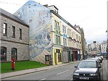 SH4862 : Shops in Bangor Street by Eric Jones