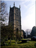ST7693 : St Mary the Virgin, Wotton-under-Edge by Linda Bailey