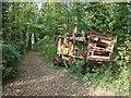 SE5018 : Abandoned farm machinery, Stapleton Park by Bill Henderson