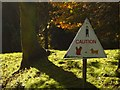 NZ0162 : Unusual Road Sign by Bill Cresswell