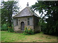 SK1259 : Charles Cotton's Fishing House built (1674) on the Banks of the River Dove by neil gibbs