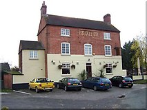 SK2125 : The Bell Inn, Anslow by Geoff Pick