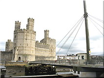 SH4762 : Twr yr Eryr and Pont 'Rabar by Eric Jones