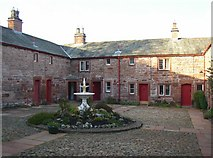 NY6820 : Courtyard of St Anne's Hospital, Appleby by Humphrey Bolton