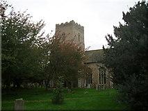 TM1469 : All Saints Church, Thorndon by Jon Welch