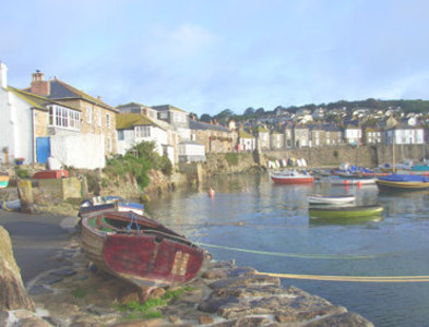 SW4626 : Mousehole harbour by Nigel Smith
