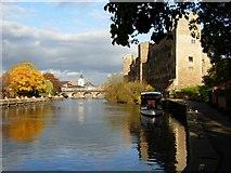 SK7953 : River Trent, Newark on Trent by Stephen McKay