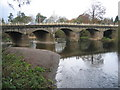 SO5968 : Bridge over the Teme, Tenbury Wells by David Stowell