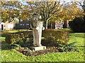 NZ4927 : Public artwork on Greatham Green by Oliver Dixon